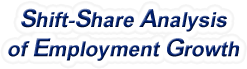 Shift-Share Analysis of West Virginia Employment Growth and Shift Share Analysis Tools for West Virginia